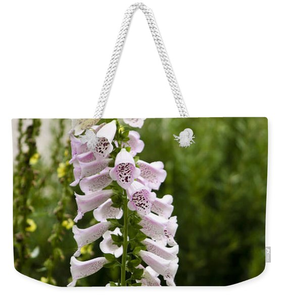 Foxglove At The Getty Weekender Tote Bag
