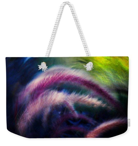 Foxtails In Shadows Weekender Tote Bag