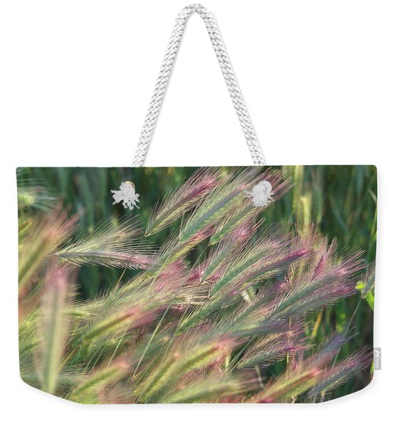 Foxtails In Spring Weekender Tote Bag