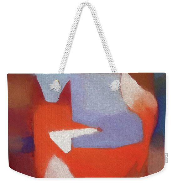 Foxy Art Weekender Tote Bag