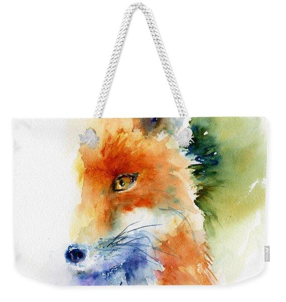 Foxy Impression Weekender Tote Bag