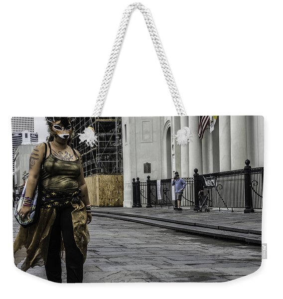 Foxy Lady, New Orleans, Louisiana Weekender Tote Bag