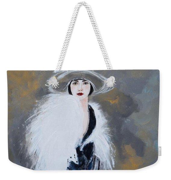Foxy Lady Weekender Tote Bag