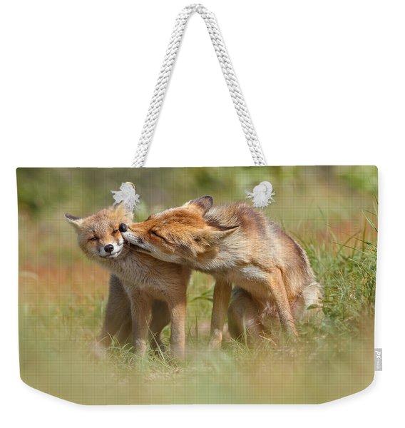Foxy Love Series - But Mo-om II Weekender Tote Bag