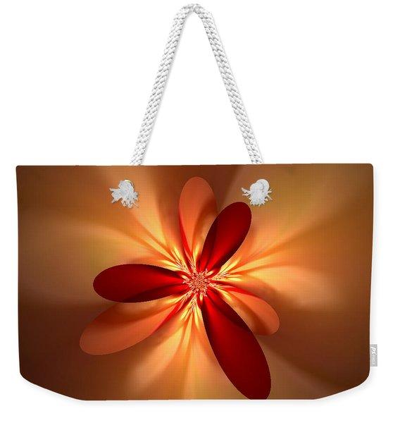 Fractal 4 Weekender Tote Bag