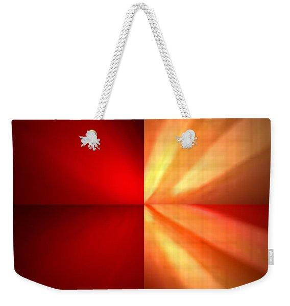 Fractal 6 Weekender Tote Bag