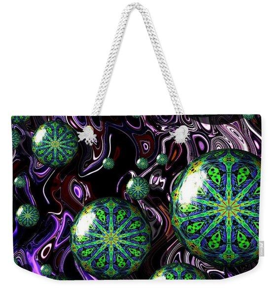Fractal Abstract 7816.5 Weekender Tote Bag