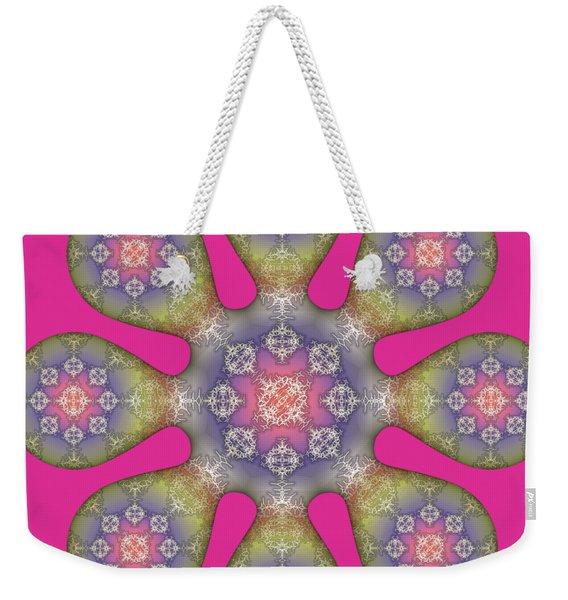 Fractal Blossom 1 Weekender Tote Bag