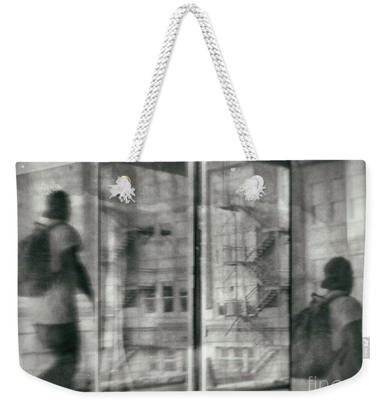Fragment 7 The Traveler Weekender Tote Bag