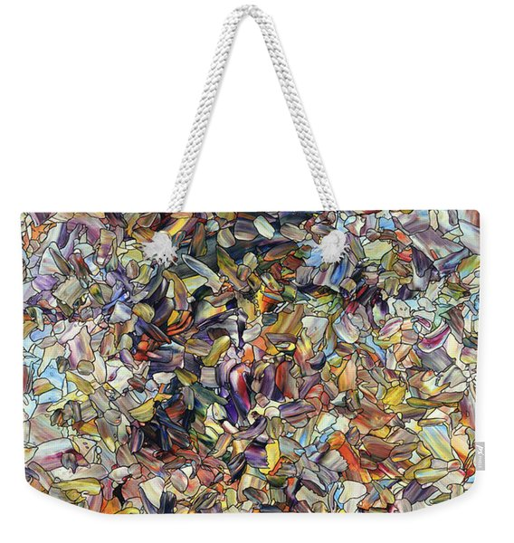 Fragmented Horse Weekender Tote Bag