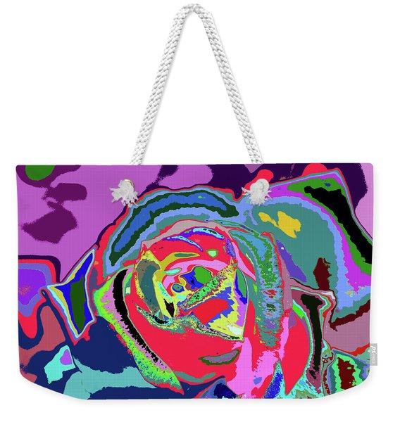 Fragrance Of Color  Weekender Tote Bag