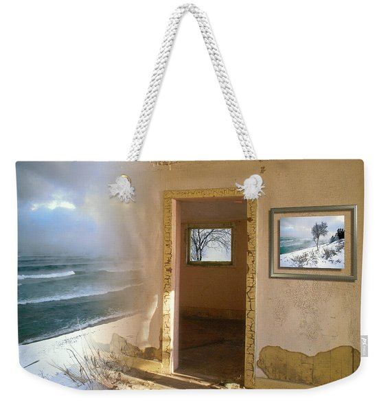 Weekender Tote Bag featuring the photograph Framed    by Doug Gibbons