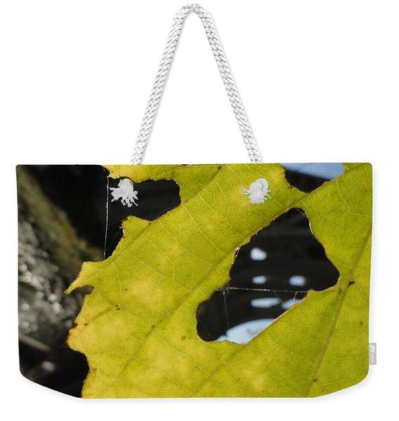 Framed Bridged Weekender Tote Bag