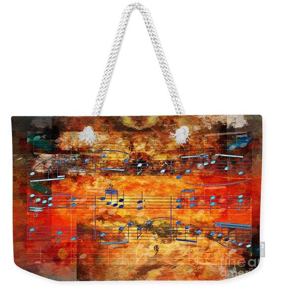 Framed Heterophony Weekender Tote Bag