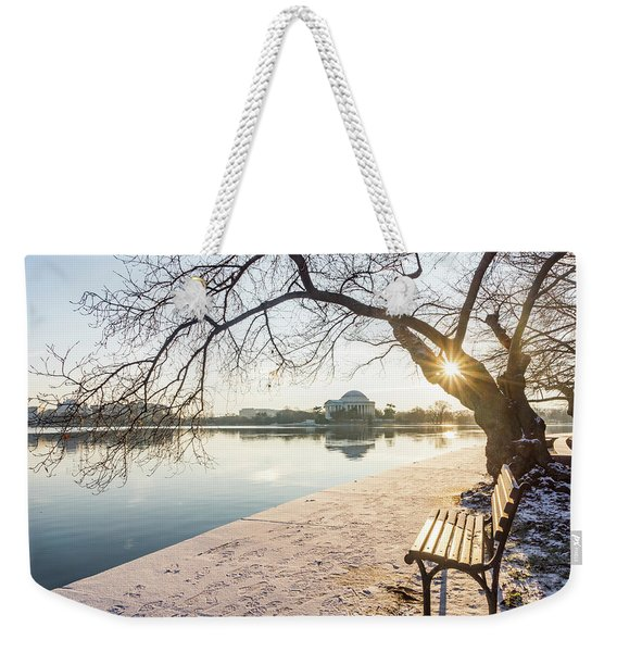 Framed Jefferson Weekender Tote Bag