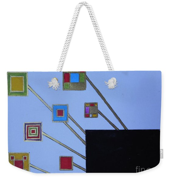 Framed World Weekender Tote Bag