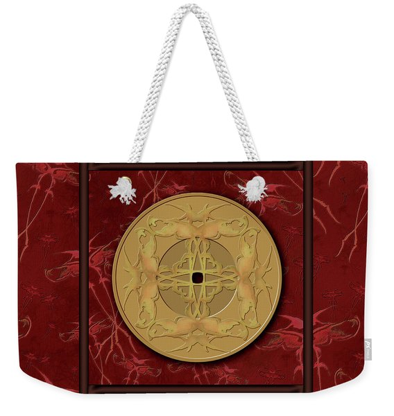 Framed Zenfly Bi Coin Weekender Tote Bag