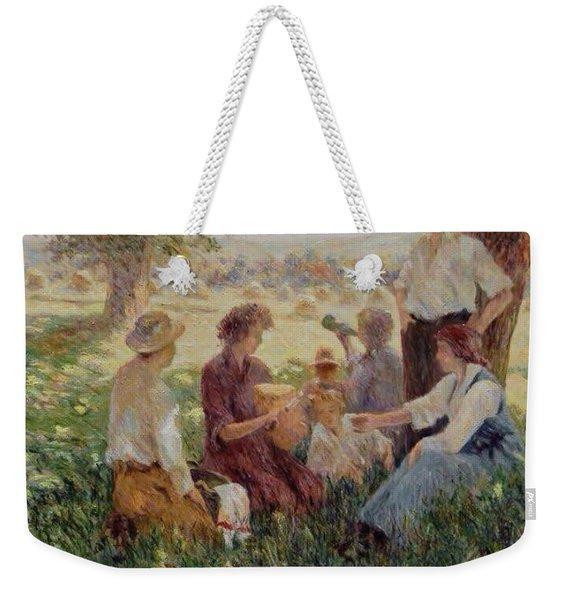 France Country Life  Weekender Tote Bag