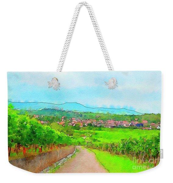 France Landscape Weekender Tote Bag