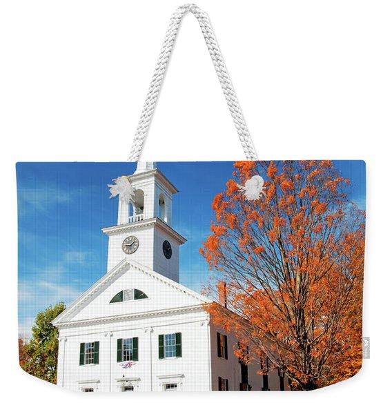 Francestown Meeting Weekender Tote Bag
