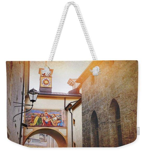 Franciscan Church Pieta Salzburg Austria  Weekender Tote Bag
