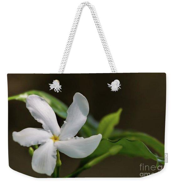 Frangipani Curves Weekender Tote Bag