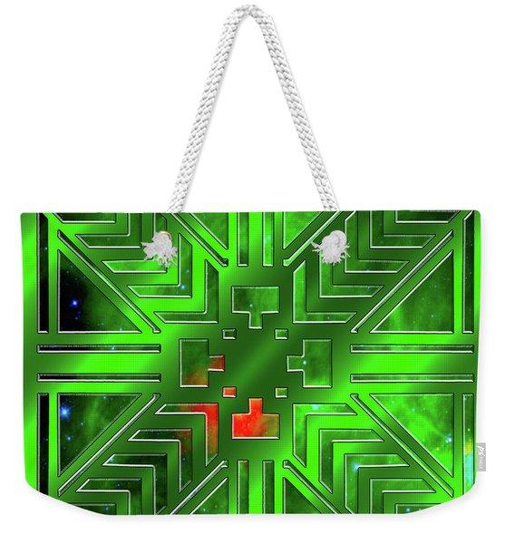 Frank Lloyd Wright Design Weekender Tote Bag