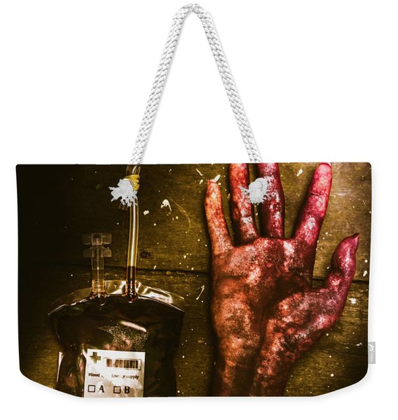 Frankenstein Transplant Experiment Weekender Tote Bag