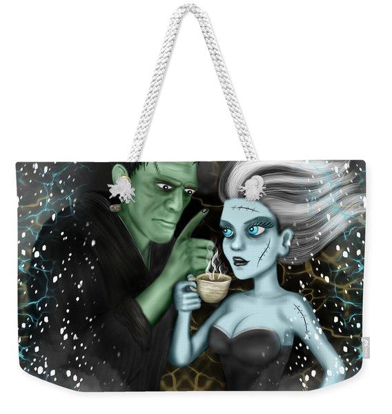 Frankenstien Fantasy Art Weekender Tote Bag