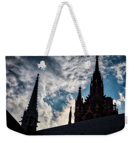 Frankfurt Cathedral Weekender Tote Bag