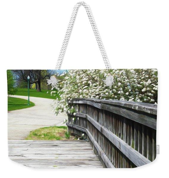 Franklin Park Conservatory Footbridge Weekender Tote Bag