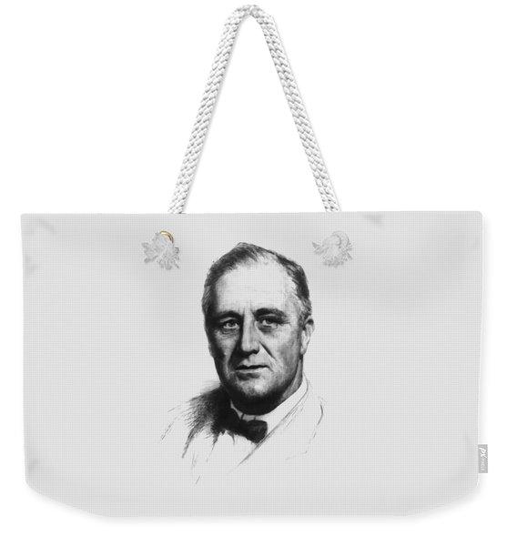 Franklin Roosevelt Weekender Tote Bag