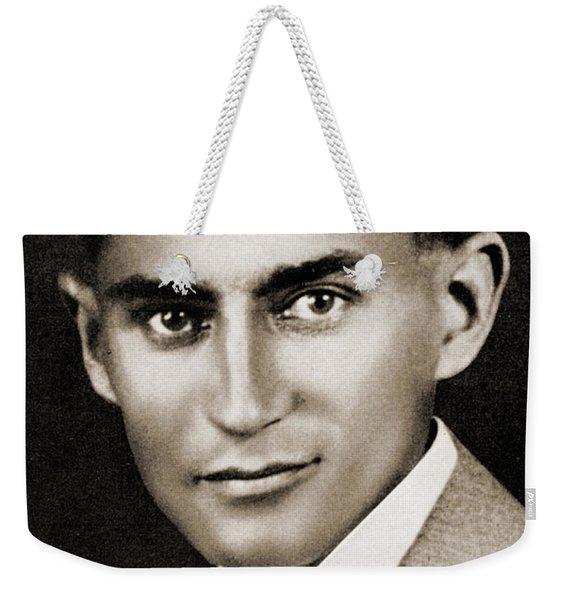 Franz Kafka Weekender Tote Bag