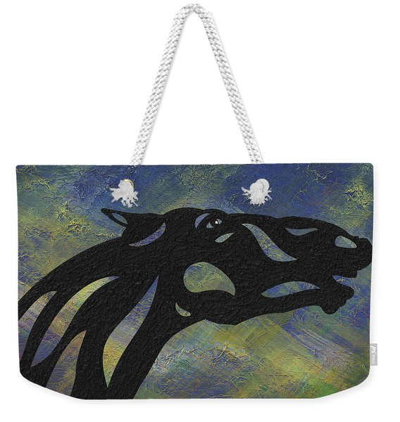 Fred - Abstract Horse Weekender Tote Bag