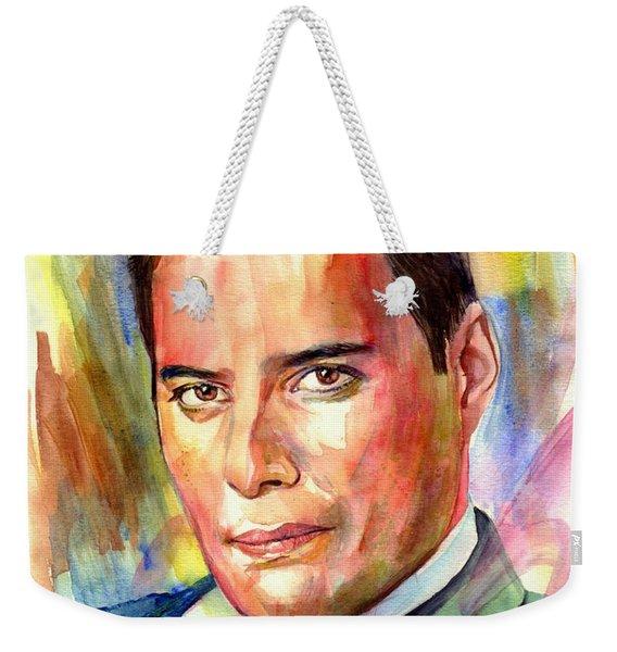 Freddie Mercury Painting Weekender Tote Bag