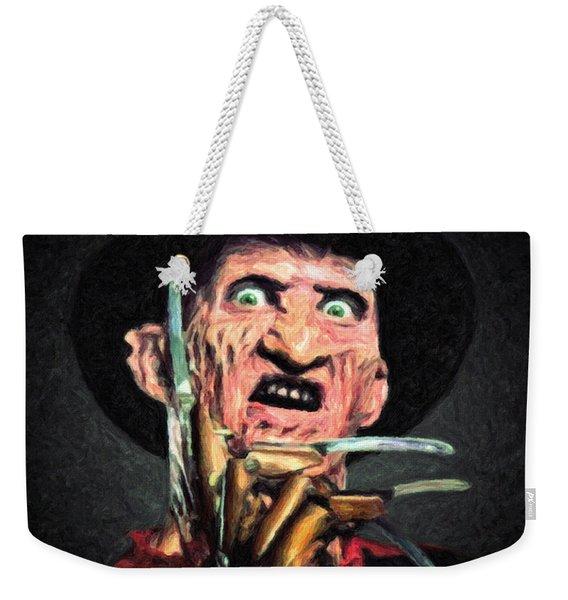Freddy Krueger Weekender Tote Bag