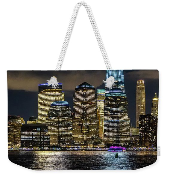 Fredoom Tower Nyc Weekender Tote Bag