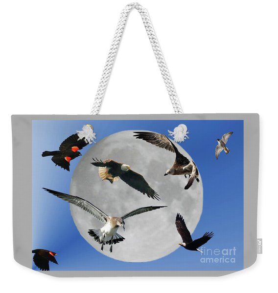 Free As A Bird Weekender Tote Bag