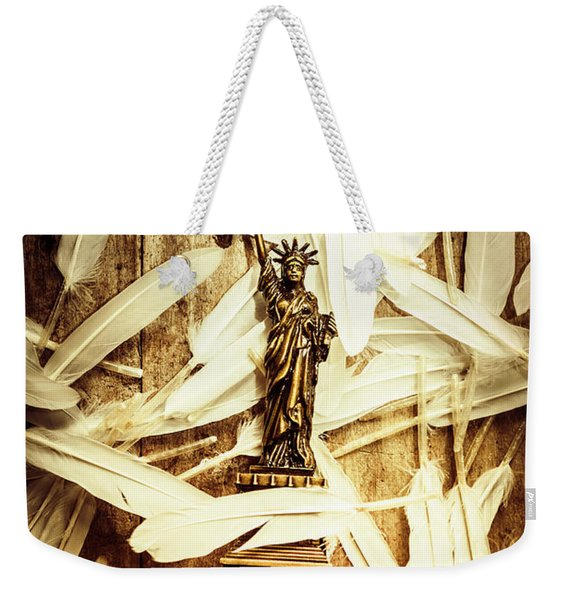 Freedom And Independence Weekender Tote Bag