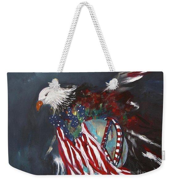 Freedom Rings Weekender Tote Bag