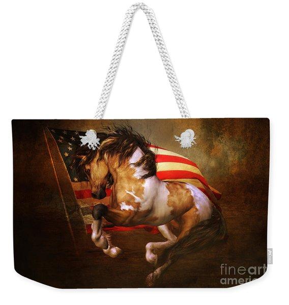Freedom Run Weekender Tote Bag