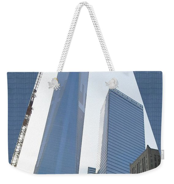 Freedom Tower Formerly World Trade  Centre Wtc New York Photo Taken On July 4 2015 Usa America's Bir Weekender Tote Bag