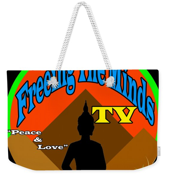 Freeing The Minds Supporter Weekender Tote Bag