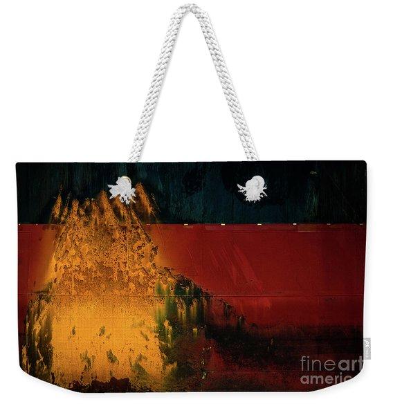 Freighter Rust Weekender Tote Bag
