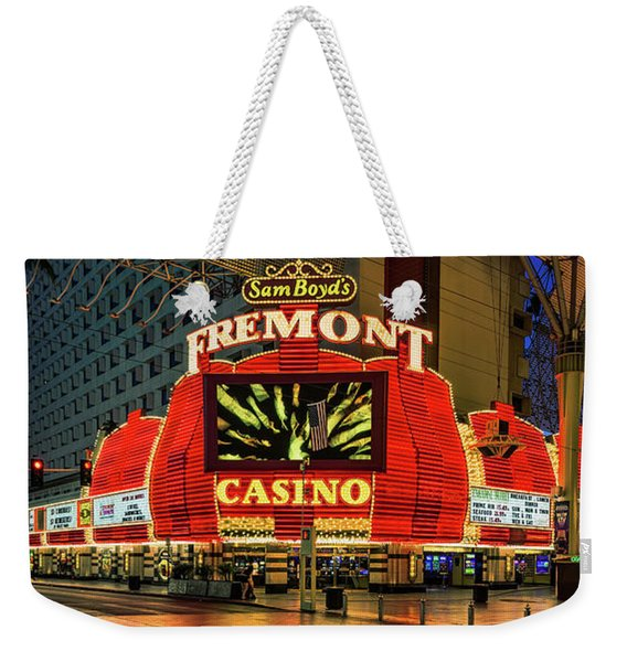 Fremont Casino Entrance Weekender Tote Bag