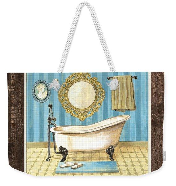 French Bath 1 Weekender Tote Bag