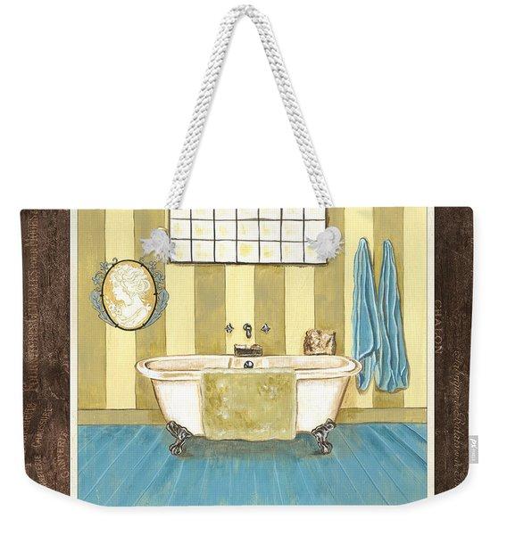 French Bath 2 Weekender Tote Bag