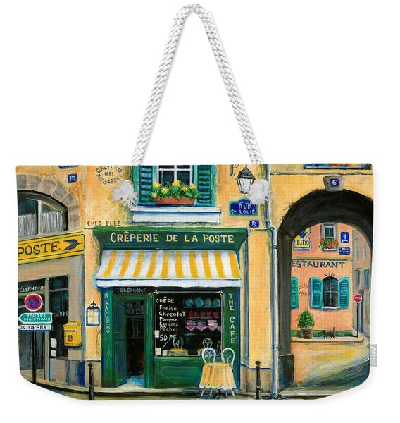 French Creperie Weekender Tote Bag