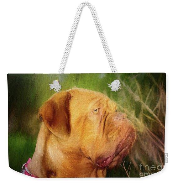 French Mastiff  Weekender Tote Bag