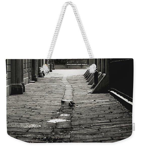 French Quarter Alley Weekender Tote Bag